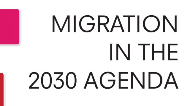 Migration in the 2030 Agenda